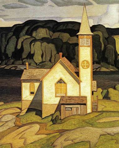 AJ Casson Anglican Church At Magnetawan