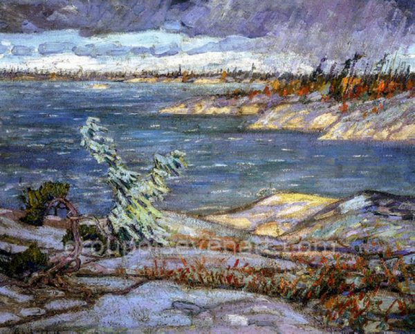 A Westerly Gale, Georgian Bay 1916