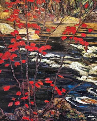 AY Jackson The Red Maple 1914