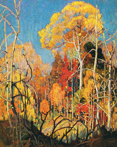 Franklin Carmichael Autumn In Orillia