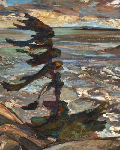 Frederick Varley Stormy Weather Georgian Bay