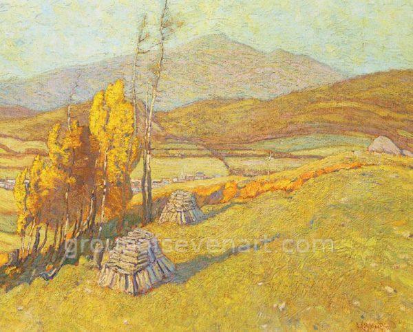 Laurentian Village, October 1916