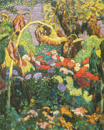 JEH MacDonald The Tangled Garden