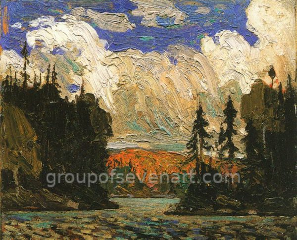 Black Spruce In Autumn 1915